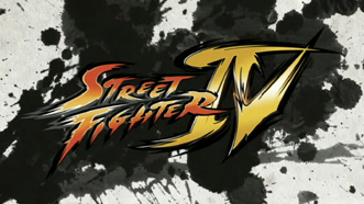 Logo de Street Fighter (blanco y negro)