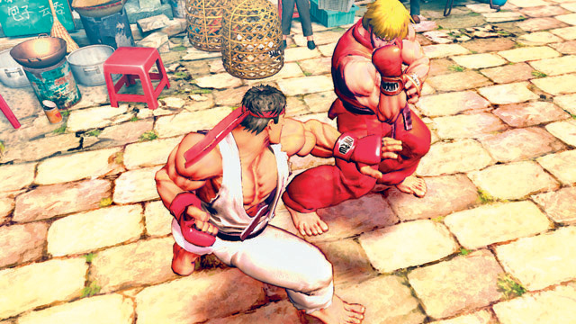 SF4 - Screenshot oficial 2