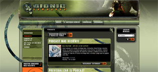 Site de Bionic Commando