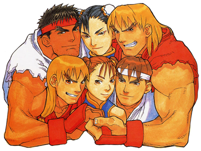Street Fighter Zero - Telecard