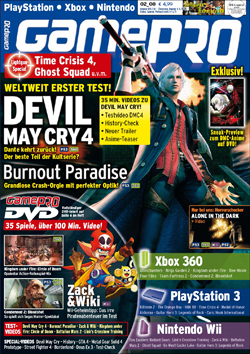 Portada GamePro Devil May Cry 4