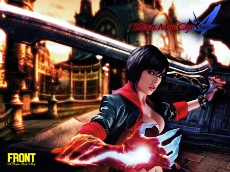 Devil May Cry 4 Front Magazine