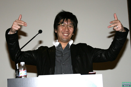 Masafumi Takada en la Game Developer Conference 2008