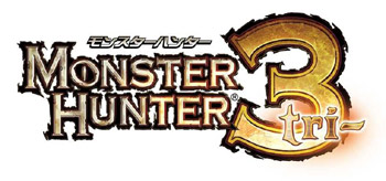 Monster Hunter 3 logo