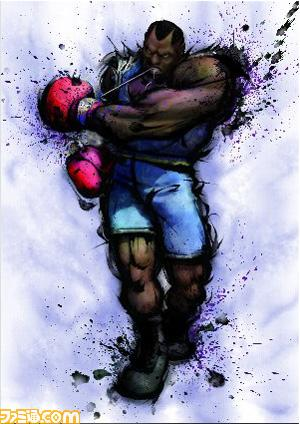 Artwork de Balrog en Street Fighter IV