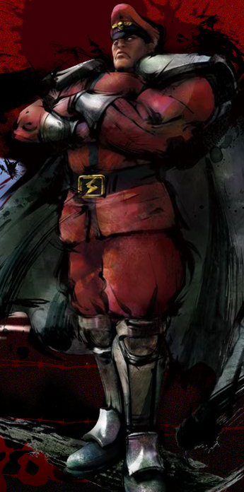 M. Bison Street Fighter IV artwork