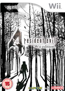 Resident Evil 4 Wii edition cover con mucho trabajo