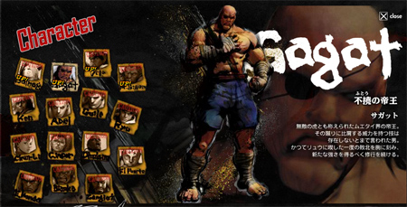 Sagat Street Fighter IV