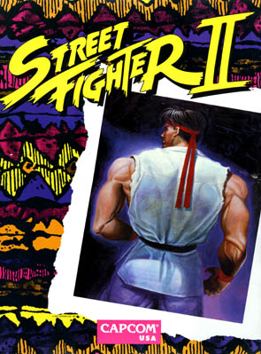 Flyer Street Fighter II World Warrior