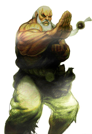 Street Fighter IV Shen Long