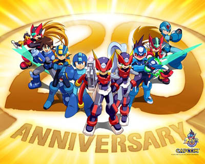 Mega Man 20th anniversary
