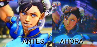 Street Fighter IV Chun-Li cambios location test 5