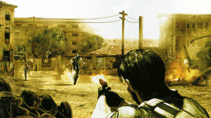 Resident Evil 5 scans Famitsu moto zombies