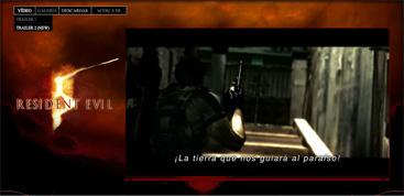 Resident Evil 5 Oficial Site