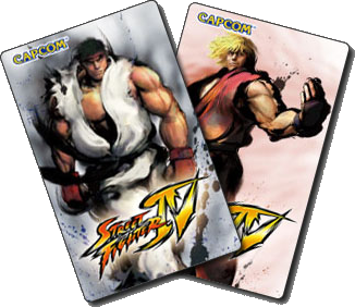 Street Fighter IV ID Cards Ryu Ken