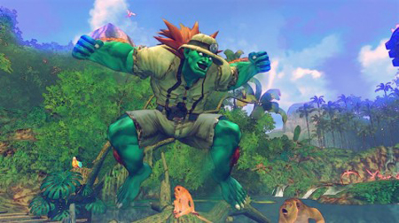 Blanka traje alternativo Street Fighter IV