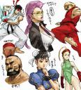 Street Fighter fanart Usatarou