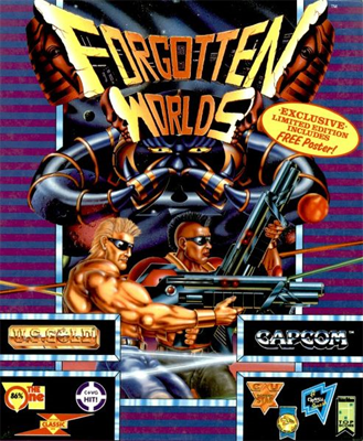 Forgotten Worlds port cover