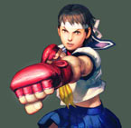 Artwork Sakura Street Fighter IV