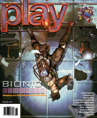 Play Magazine Bionic Commando