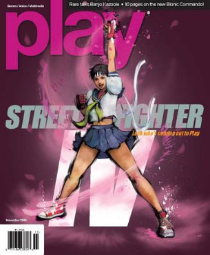 Play Magazine Street Fighter IV Sakura