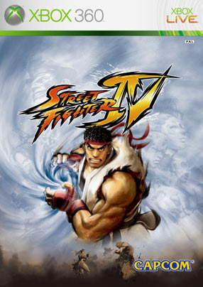 Street Fighter IV Euro cover