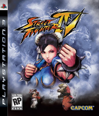 Street Fighter IV USA cover