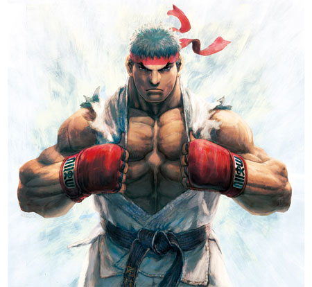 Street Fighter IV artwork Ikeno dvd anime