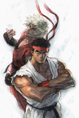 Comic Street Fighter IV