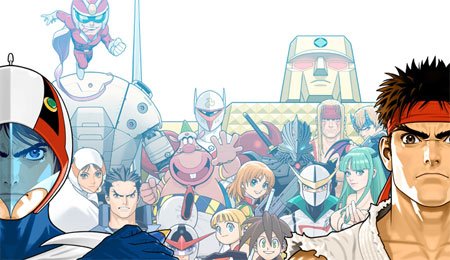 Tatsunoko Vs Capcom artwork
